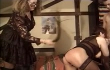 Kinky matures fuck with two guys