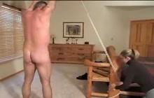 Husbands spank wives