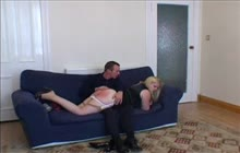 Naughty wife spanked hard
