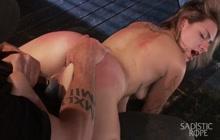BDSM spanking game