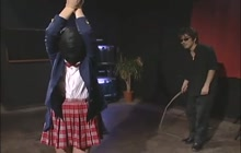 Asian schoolgirl punishment
