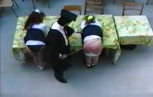 British schoolgirls getting spanked